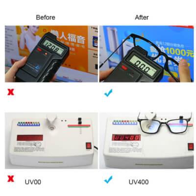 computer glasses lenses test