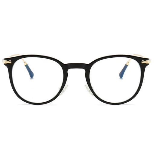 Stylish Retro Designer Womens Blue Light Sleep Glasses