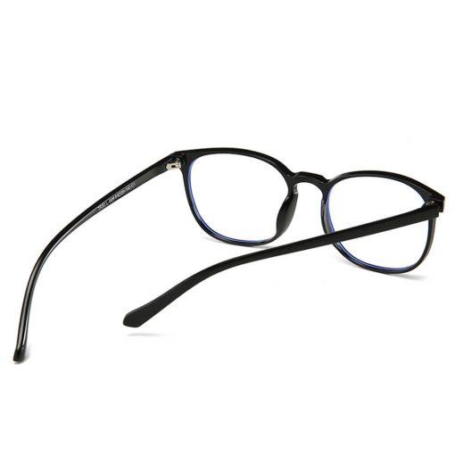 Stylish Clear Lens Eye Fatigue Glasses Blue Light Block 029