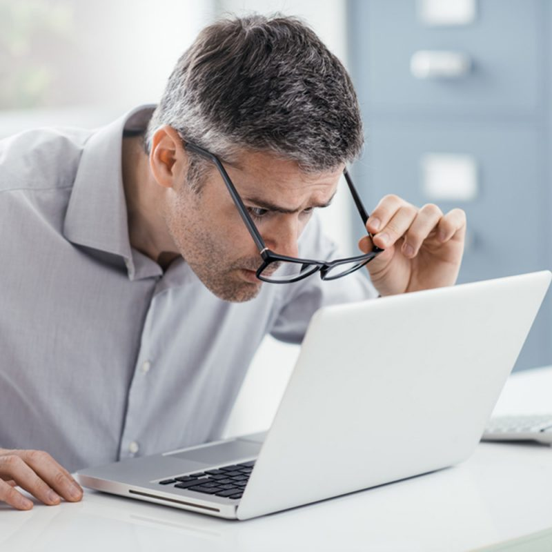 Age-related farsightedness