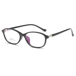 Fashion Women's Oval Blue Light Blocking Reading Glasses 8099