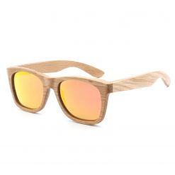 Handmade Wood Frame Sunglasses Polarized Lenses for Women Men D78